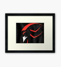 Shadow the Hedgehog - Abstract Framed Print
