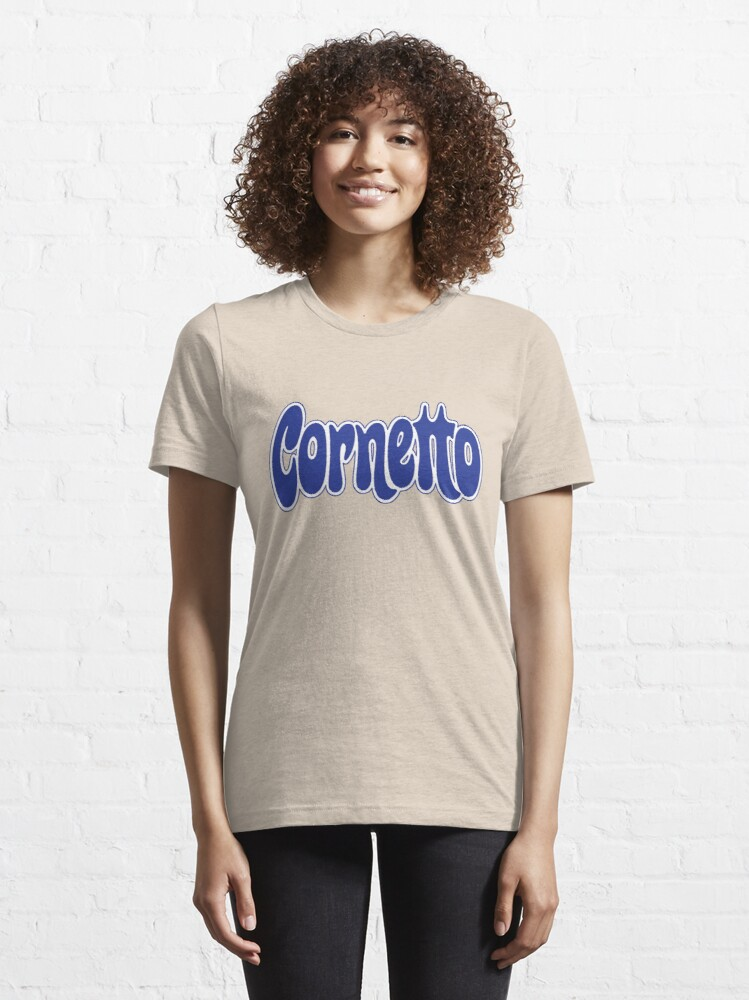Alternate view of 1970s Cornetto logo, Wall's ice cream of Italy Essential T-Shirt