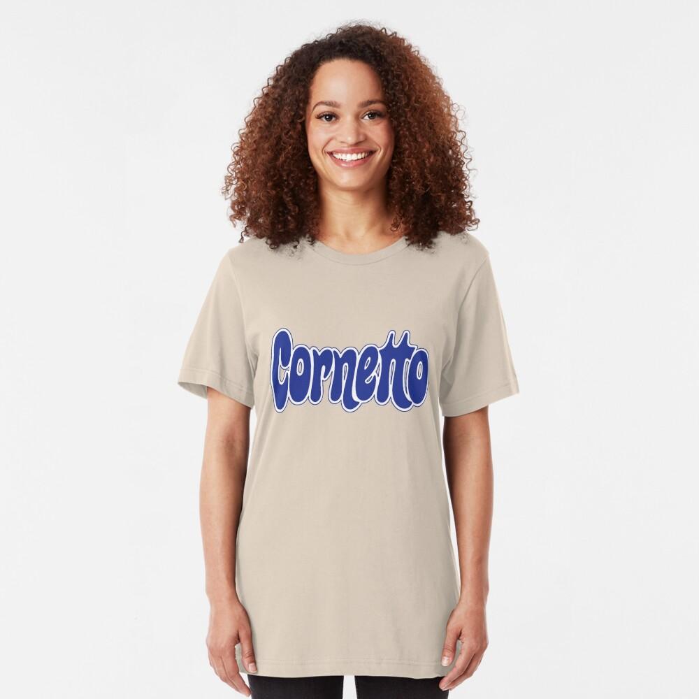 1970s Cornetto logo, Wall's ice cream of Italy Slim Fit T-Shirt