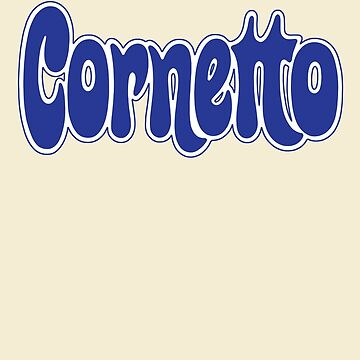 1970s Cornetto logo, Wall's ice cream of Italy by unloveablesteve