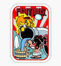 Fight Bros. Side Art Sticker