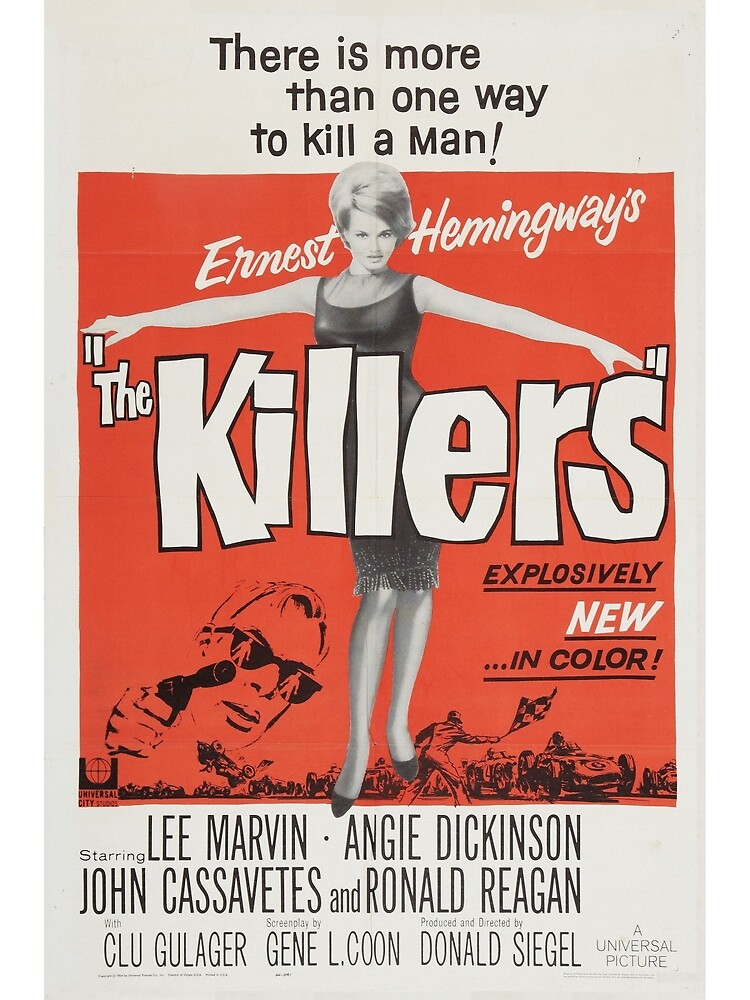 The Killers (Red) by PulpBoutique
