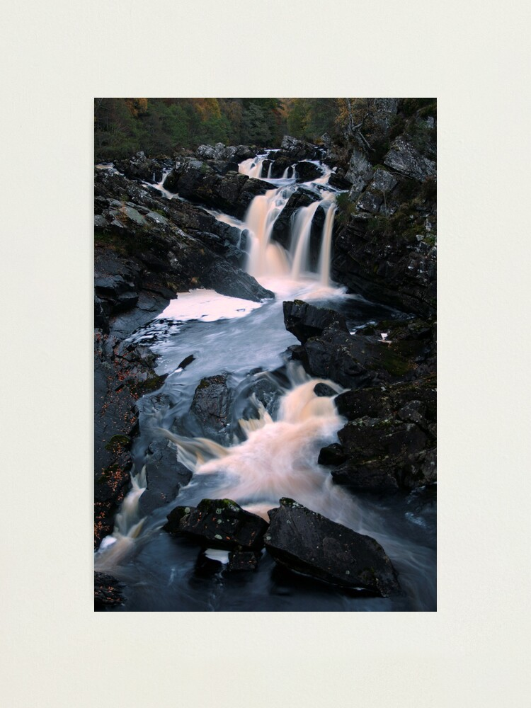 Alternate view of Rogie  Falls Photographic Print