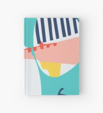 Modern Minimalist Blocking Colors Hardcover Journal