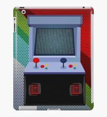 Retro Arcade Joystick Video Game  iPad Case/Skin