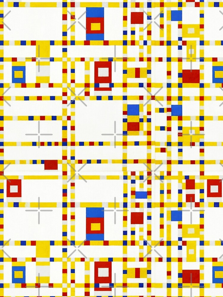 Mondrian Abstract Art  by BluePlanet