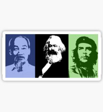 Uncle Ho, Karl & Che Sticker