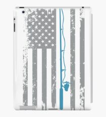 Fisher, Fishing Rod, Fishing Parody, River, Lake, Fishing Gear, Fishing Shirts, Fishing T Shirts, Fishing Dad iPad Case/Skin