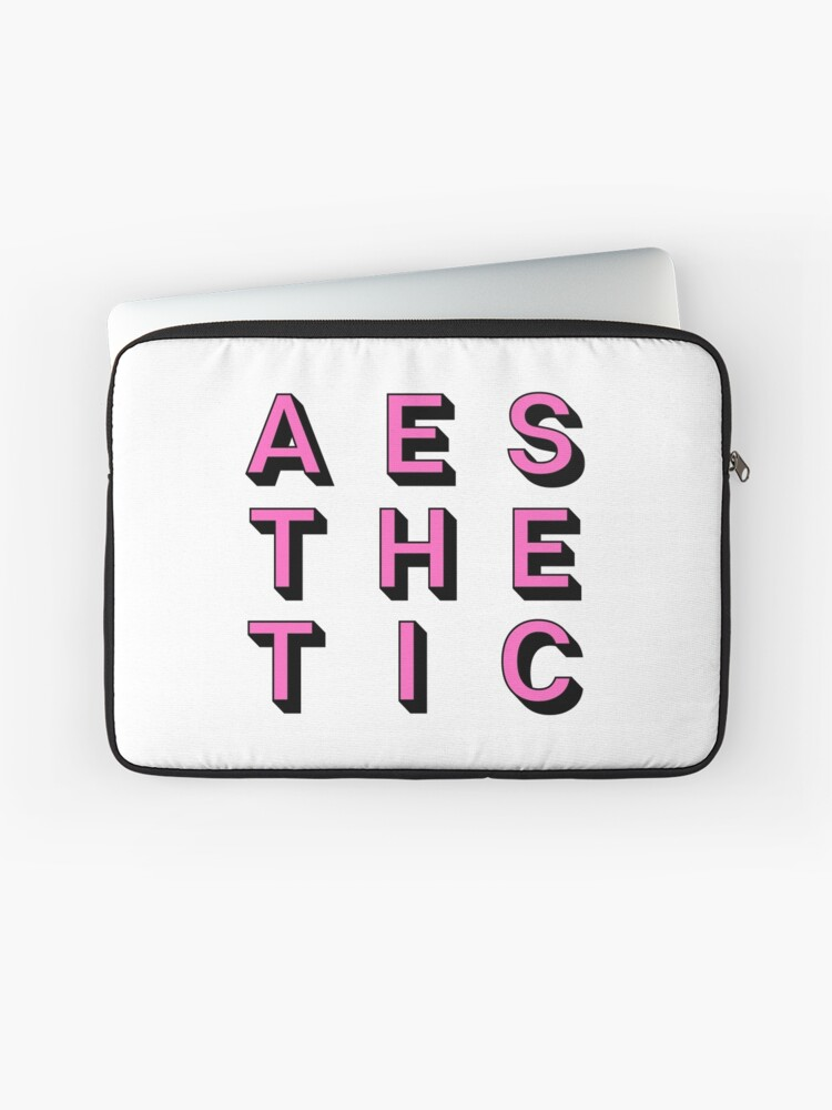 Aesthetic Text T Shirt Stickers Kpop Hipster Laptop Sleeve
