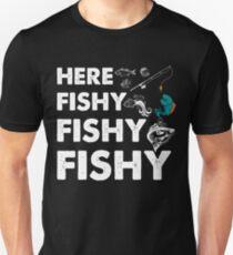 Fishing Dad Shirt, Boat, Fishing Shirt, Salmon, Boating, Bass Fishing, Funny Fishing Gifts, Fly Fishing Unisex T-Shirt