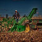 JD Corn Picker by Steve Baird