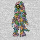 mumps, your colourful monster by fabian faraone