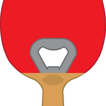 The Best Beer Pong Paddle EVER! (Red) by gstrehlow2011