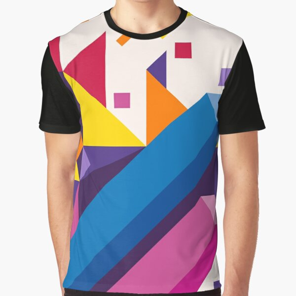Abstract modern geometric background. Composition 17 Graphic T-Shirt