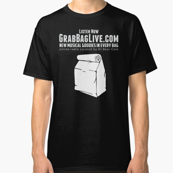 Grab Bag Live Radio Station  Classic T-Shirt