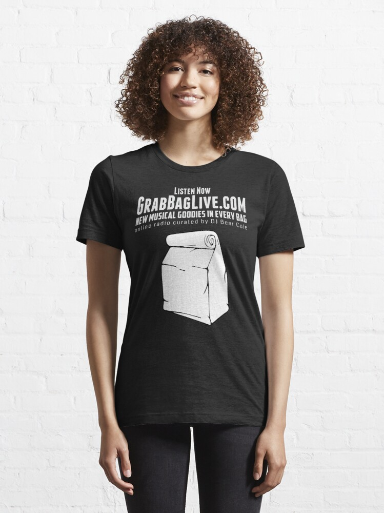 Alternate view of Grab Bag Live Radio Station  Essential T-Shirt