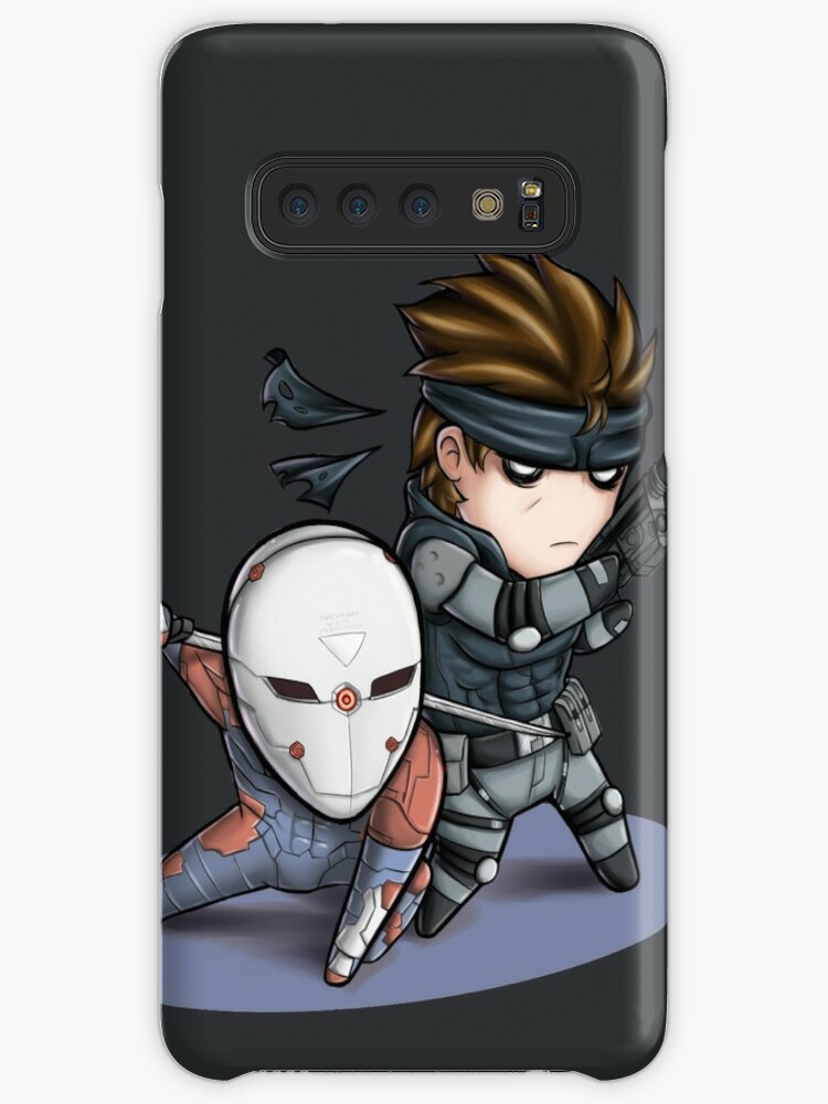 Mgs1 Fox And Snake Case Skin For Samsung Galaxy By Thesketcher