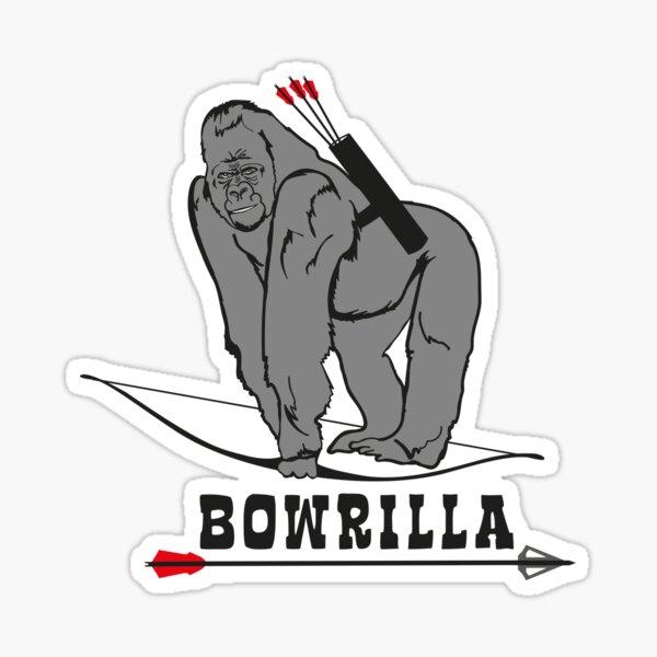 BOWRILLA (Bogenschießen by BOWTIQUE) Sticker