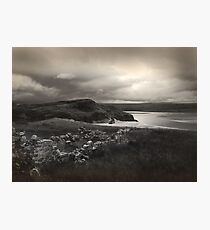 Lonely Acre, Sutherland Photographic Print