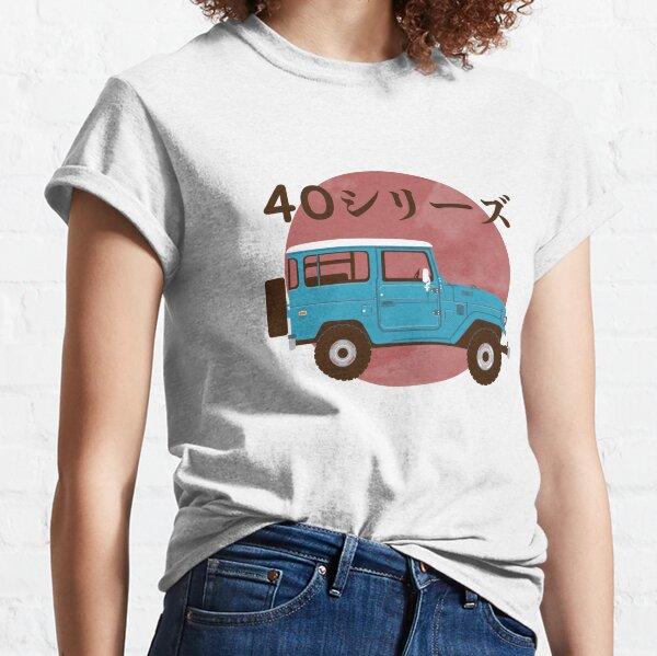 Toyota Landcruiser FJ40 Illustration Classic T-Shirt