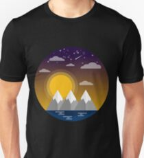 Landscape Illustration Unisex T-Shirt