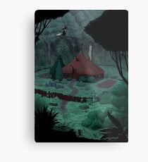 Little Witch House Metal Print