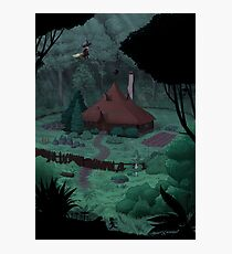 Little Witch House Photographic Print