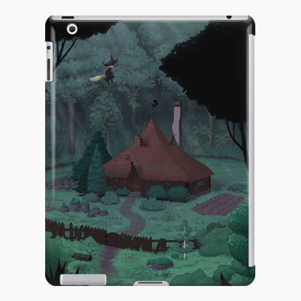 Little Witch House iPad Snap Case