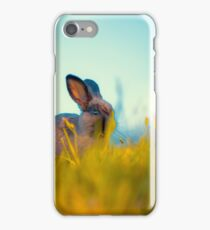 Grass Fed Bunny iPhone Case/Skin