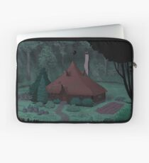 Little Witch House Laptop Sleeve