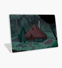 Little Witch House Laptop Skin