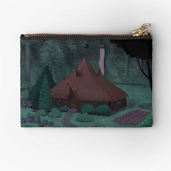 Little Witch House Zipper Pouch