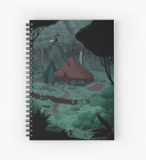 Little Witch House Spiral Notebook