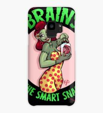 Brains The Smart Snack! Case/Skin for Samsung Galaxy