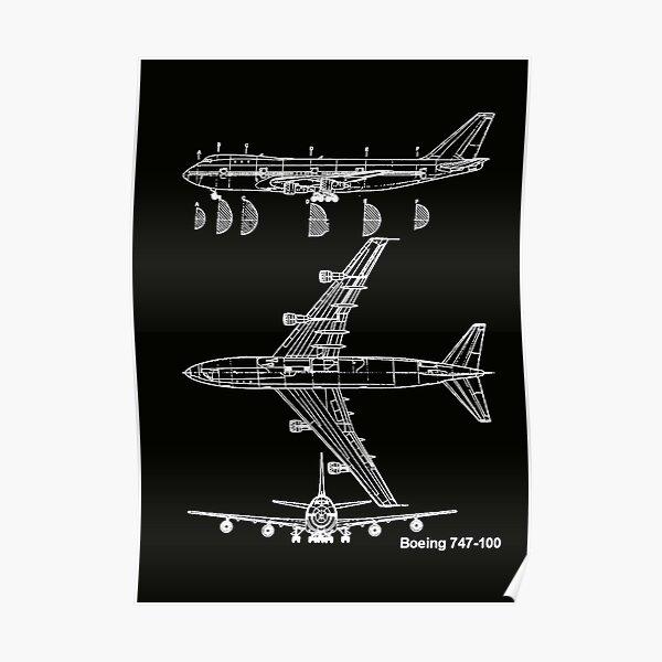 Aeronca Boeing 747-100 Poster