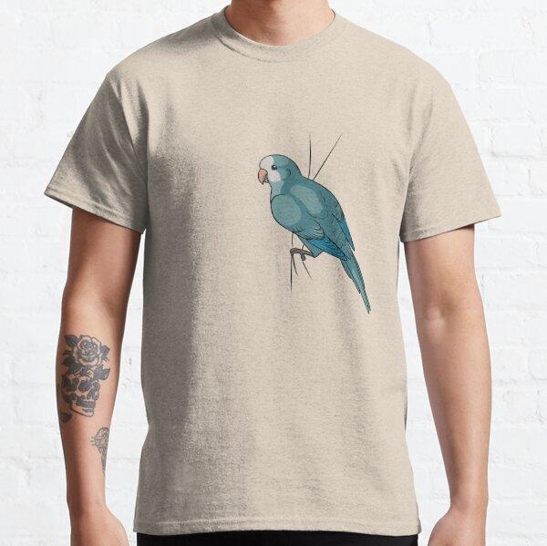Clingy Blue Quaker Classic T-Shirt