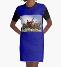 Les Deplorables Crossing the Delaware Graphic T-Shirt Dress