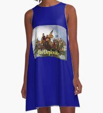 Les Deplorables Crossing the Delaware A-Line Dress