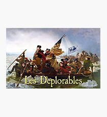 Les Deplorables Crossing the Delaware Photographic Print