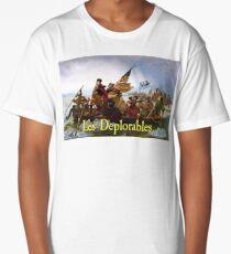 Les Deplorables Crossing the Delaware Long T-Shirt