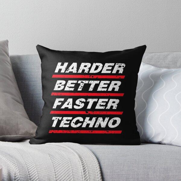 Harder Better Faster Techno #1 Dekokissen