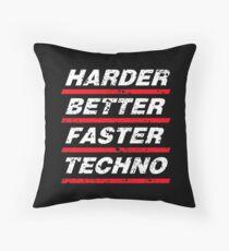 Harder Better Faster Techno #1 Kissen