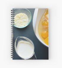 Quiche Ingredients Spiral Notebook