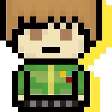 Chie Satanaka - Pixel Art by TatsuyoDragneel