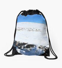 Snow Field Drawstring Bag