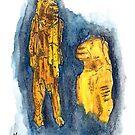 Lion-man of Hohlenstein-Stadel by Jens Notroff