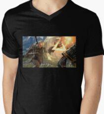 Geralt Soul Calibur 6 Men's V-Neck T-Shirt