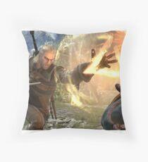 Geralt Soul Calibur 6 Throw Pillow