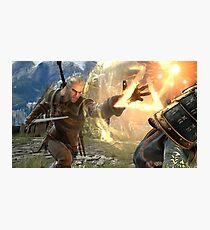 Geralt Soul Calibur 6 Photographic Print