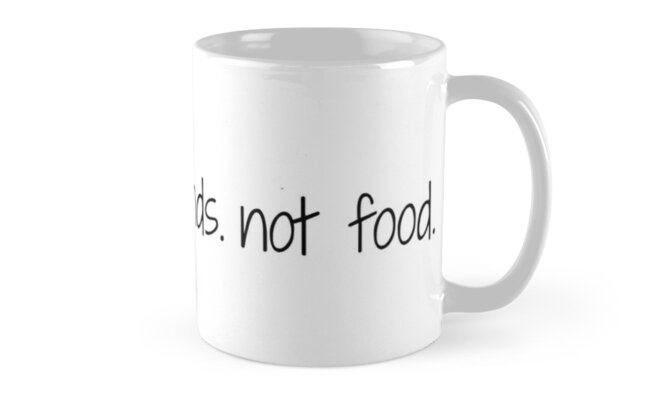 Fish Are Friends Not Food Quote Mugs By Pgracew Redbubble